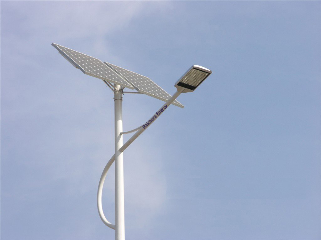 Solar With Wing LED Street Light